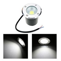 Garden Light IP67 7W 9W High Power COB LED Spotlights Warm/White/Red/Green/Blue Underground Lamp Outdoor Yard Landscape