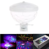 4 LED Floating Underwater Disco Light Glow Show Swimming Pool Hot Tub Spa Lamp #H028#
