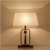 Chinese modern table lamp bedroom bedside lamp warm warm light retro study of Chinese style living room desk lamps ZA8214