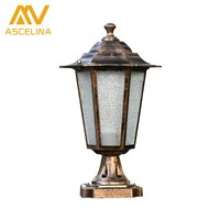 ASCELINA Retro Outdoor Lighting wall lamps led waterproof black outdoor lighting fixtures Stigma lights porch light E27 85-260V