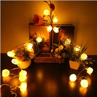 Halloween pumpkin LED String Lights AA Battery operated holiday lighting Halloween Party garland decoration pumpkin light P15