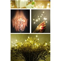 2m/3m/5m Beautiful Christmas Lights Indoor String LED Copper Wire Fairy Lights for Festival Wedding Party Home Decoration Lamp