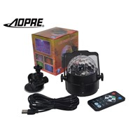 AOPRE Laser Led Magic Disco Ball Stage Lighting Effect DJ Party Light Lampen Portable Auto Sound Activate For Car And Home L-16D