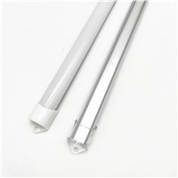 5pcs 20inch 0.5m 12mm strip led aluminium profile for led bar light, led aluminum channel, flat aluminum housing