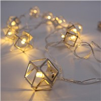Warm Lighting Home Party LED String Light Christmas Holiday Night Lights Battery Battery Power for Garden Decoration