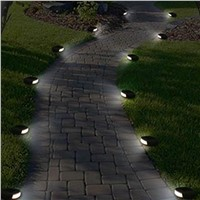 2017 Wholesale Outdoor LED Solar Power Pathway/Stairs Light Colophony Fake Stone Lamp For Garden Decoration IP44 Waterproof