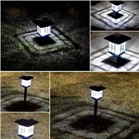 Smart Solar Energy Lantern Room Lawn Lamp IP33 Extremely Bright LED Solar Pillar Yard Light Yard Decoration Lamp