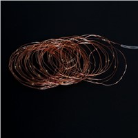 12M 100 Leds Solar Panel String lights Copper Wire LED fairy lights for Christmas tree bedroom party garden decoration