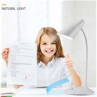 Led Light Desk Lamps Touch Switch USB LED Reading Desktops Lamp Horseshoe Design Table Lamps for bedroom