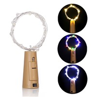 1.4m 15 LED Copper Wire String Light Bottle Stopper Cork Lamp Xmas Wedding Decor Party