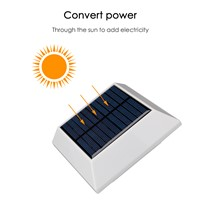 Waterproof 4/6 LED Solar Light Solar Power PIR Motion Sensor LED Garden Light Outdoor Pathway Sense Solar Lamp Wall Light