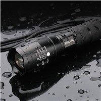 6000LM CREE XML-T6 LED Flashlight Torch Dimmable Bike Bicycle Flash Light for Camping Hunting Night Walking Lamp Hand Bulb