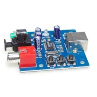 PCM2704 USB DAC to S/PDIF Sound Card Decoder Board 3.5mm Output F/PC