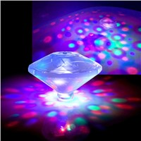 LED Underwater Floating bulb Light Water Lamp Baby Bath Tub Toy Colorful Swimming Pool Garden Party Disco Show SPA Tub bathroom