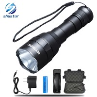 CREE XM-L2 8000LM LED Flashlight Torch Big Promotion Ultra Bright Torch 5 Models Waterproof Hunting and fishing with 18650