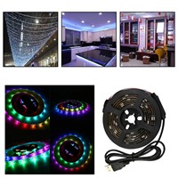 WS68 12 RGB 5050 SMD Waterproof Flexible USB 5V LED Strip Lamps Light P15