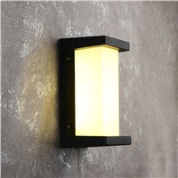 wall light outdoor Porch light Waterproof IP65 for garden decoration  bathroom Modern wall lamps with LED bulbs1157