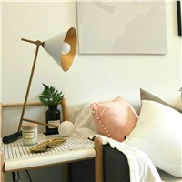 Minimalist Modern Table Lamps for Bedroom Bedside Table Lamp Gold Stand Chinese Style Tripod Table Lamp