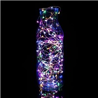 2M 20 LED Copper String Decorative Lights Battery Powered Fairy Party Christmas Wedding L15