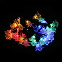 4.9M 30 LEDs Solar Lighting Strings Christmas Tree colorful Fairy Lights Holiday String Lights Waterproof Xmas Decor