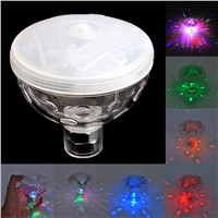 For 1Pc 4 LED Floating Underwater Disco Light Glow Show Swimming Pool Hot Tub Spa Lamp Promotion