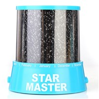 Romantic Star Beauty Auto Music Night Light Colorful Projector Lamp Bedroom Home Decor Valentine's Day Lovers Kids Gift Present