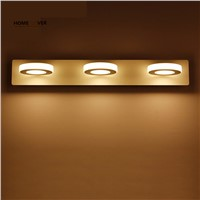 Modern LED front mirror light bathroom makeup wall lamps led vanity toilet wall mounted sconces lighting fixture