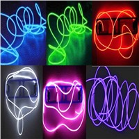 3M Colorful Neon Light Glow Wire Rope Waterproof LED Strip Light Tube Cable+Battery Controller Profile For Led Strip For Party