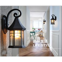 Retro Europe Waterproof Outdoor Lighting Wall Light Mediterranean Foyer Lamp Industrial Sconce Porch Lights Home Decor Fixtures