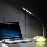 Colorful led studying table light ABS boday with 3steps dimmable desk lamp
