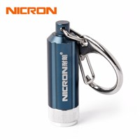NICRON Mini LED Flashlight Battery Portable Micro Led Keychain Light Waterproof For Home Torch Lamp Pocket Camping Light G10A-1