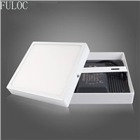 FULOC LED Ceiling Light Indoor Decoration Square Surface LED Panel Light lamp
