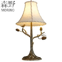 American Country Style Table Lamp Use For Bedroom & Led Lamp
