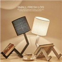 Nordic Modern Iron Humanoid table Lamp Minimalist Lights Study Bedroom Bedside Desk Lighting