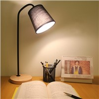 Nordic style wrought iron lamp home decoration bedside lamp simple style lamp