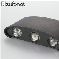 Outdoor Waterproof Wall Lamp Modern Simple LED indoor Wall Lamps Home Decoration Lighting Aluminum Balcony Wall Stairs Lights