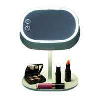 Touch Screen Lighted Makeup Mirror Lamp (Mint Green)