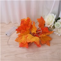 10 Leds Lights Novelty Maple Leaf Fairy Garland LED String Wedding Event Thanksgiving Home Decor L15