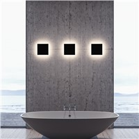 LED wall light for bathroom Modern Porch lights Waterproof outdoor lighting garden decoration Aluminum wall lamp Square LED 10w