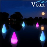 2016 New Design Christmas Decoration Light drop water shape with remote control  VC-B2036