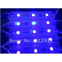 3pcs 5050 smd led module;blue color