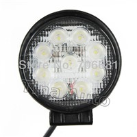 Tkeapl TMH 20pcs 27W Round flood LED Off road Work Light Lamp 12V 24V for car Truck 4WD 4X4 IP68 waterproof