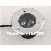 AC85-265v or DC12v IP67 waterproof 3w led underground light floor lamp uplight