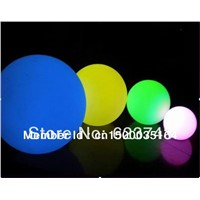 40CM lighted up led Ball color changeable ,waterproof  swimming pool stlools color changing D40cm rgb led ball,lowing Sphere