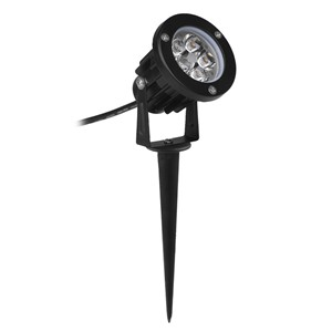 LED Lawn Lamp 5W Garden Flood Light Yard Patio Path Spotlight Lamp with Spike Waterproof Outdoor Cool White Warm White AC/DC12V
