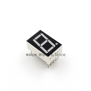 "(50Pcs/lot)  0.56"" inch 1 Digit 7 Seven Segment Red Light LED Numeric Digital Display,Common Anode"