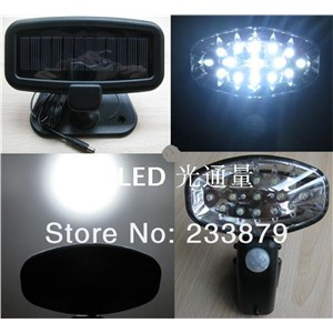 LED Luz Pir Solar Panel Power Infrared Motion sensor wall lamps Hyundai Solaris Outdoor Solar Sconce Garden Path Lawn decoration