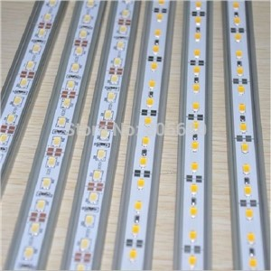 72PCS DC12V 100Meter/Lot Led 18w 5630SMD Rigid Light  with U or V shape Aluminum rigid strip CE&RoHS approved 2years warranty