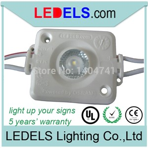 420pcs/lot,c/UL CE Rohs Nichia Osram 12V 1.6W 120lm outdoor led sign lighting modules  high power led modules box signs lighting