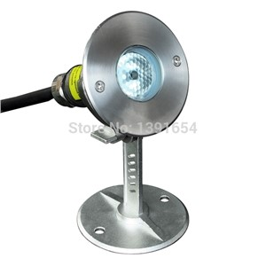 100% IP68 316 stainless steel 3W Waterproof LED Underwater Light for Fountain Pond lamp LED Pool Light  RGB  white warm white